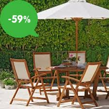 Buy Bali 6 Seater Rattan Effect Patio Furniture Set  Brown At Argos Outdoor Furniture Sets