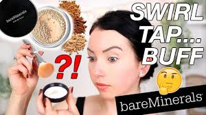 Giving It Another Shot Bare Minerals Original Powder Foundation Foundation Friday Review Demo