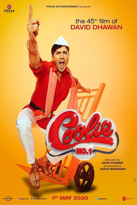 Download Coolie No. 1 (2020) Hindi Movie WEB-DL 480p | 720p