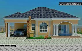 fabulous bungalow designs in nigeria 5 bedroom design house plan ideas