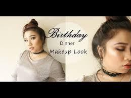 grwm birthday dinner makeup tutorial makeup tutorial 13 you