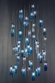 ocean breeze glass art chandelier d49ob