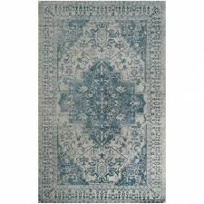 astonishing blue and grey area rug applied to your residence decor