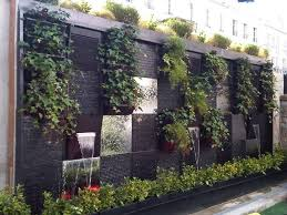 outdoor wall mounted hanging planters vertical garden