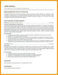 Merchandiser Job Description Resume Elegant Resume Examples For