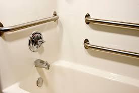 how to install a tub grab bar