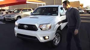 2013 Toyota Tacoma TRD Sport Review at Toyota of Santa Fe - YouTube