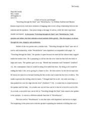 literary analysis essay earnest matthew mccready mrs canan ap  importance of bein earnest questions 4 pages compare and contrast essay