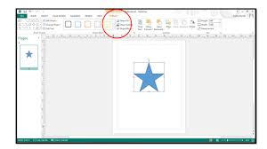 Microsoft Publisher Format How To Add Shapes In Microsoft Publisher 2013 Teachucomp Inc