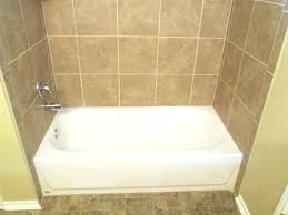 interior tile tub surround vs fiberglass installation over bathtub surrounds bathroom pictures diy wall