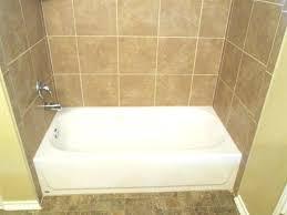 interior tile tub surround vs fiberglass installation over bathtub surrounds bathroom pictures diy wall