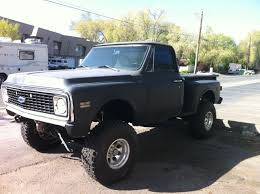1971 Chevy Stepside 4wd for sale in Reno, Nevada, United States