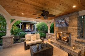 covered patio lights. Outdoor Covered Patio Transitional With Tv Recessed Lighting Lights L