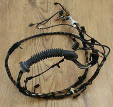 skoda fabia wiring looms skoda fabia hatch boot lid tailgate wiring harness