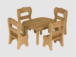 dolls furniture set. Amish Made Solid Wood Doll Furniture Table Set Dolls T