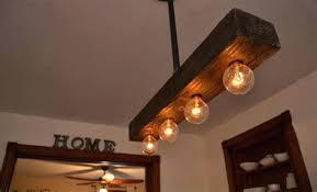 wooden ceiling light farm fixtures reclaimed wood chandelier fixture vintage barn