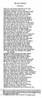 poem my last duchess by robert browning bookish  my last duchess essay my last duchess robert browning