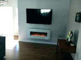 touchstone electric fireplace touchstone sideline recessed mounted electric fireplaces
