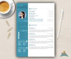 Diy Resume Template Resume Template CV Template For Word Cover Letter Creative 10