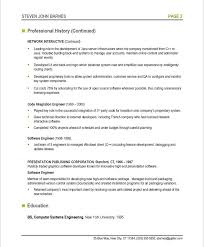 Resume Format Embedded Software Engineer Vancitysounds Com