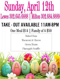 Patrick's day, easter is the most important religious. Easter Dinner From Irish Eyes Cape Gazette