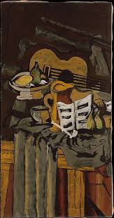 still life with a guitar georges braque argenteuil paris oil on canvas the metropolitan museum of art ny