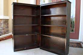 I don't need much, but I did find these bookcases as I was leaving.
