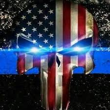 thin blue line screensaver posted by
