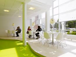 home office home ofice interior. Small Home Interior Design Ideas White Lobby Building S With Modern Side Chair And Round Coffee Office Ofice