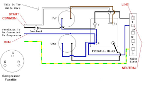 copeland potential relay wiring diagram copeland a c pressor relay wiring diagram a auto wiring diagram schematic on copeland potential relay wiring diagram