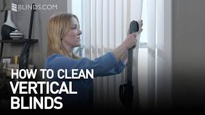 how to clean vertical blinds blinds