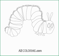 Very Hungry Caterpillar Coloring Page Beautiful Very Hungry