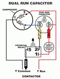 capacitor wiring diagram for ac wiring diagram schematics motor run capacitor wiring diagram wiring diagram