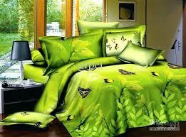green bedspreads green yellow comforter bedding set erfly queen size comforters sets bedclothes bed linen sheet