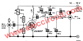 the circuit diagram of this project