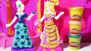 Play Doh Disney Princess Design A Dress Ballroom Play Doh Design A Dress Boutique Disney Princess Cinderella Rapunzel Make Gowns Ribbons Ruffles