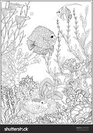 Adult Coloring Book Coloring Page With