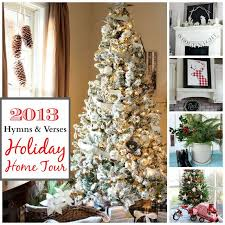 2013 Holiday Home Tour | Hymns And Verses. Ideas For ChristmasChristmas  Decorating ...