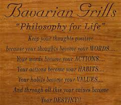 Philosophy For Life Bavarian Grill Custom Philosophy Words About Life