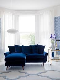 blue living room ideas. Blue Living Room Ideas Sofa Wall Pattern Flower On Floor Big Window A