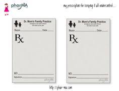 doctor prescription pad homemade doctor kit accessories free printable play prescription