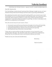 Example Resume Cover Letters Best Sample Cover Letters R Beautiful Sample Cover Letter For Retail