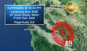 Residents of the bay area were rattled awake overnight by an earthquake. Two Earthquakes Shake San Jose California Area Hours Apart On Calaveras Fault Cbs News