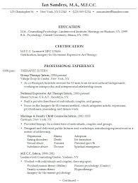 Psychology Resume Template] Psychology Resume Template .