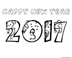 Small Picture NEW YEAR COLORING Pages Free Download Printable