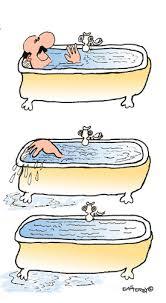cartoon drama in the bath medium by easterby tagged bathtime drowning