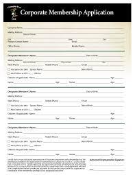 Application For Membership Membership Applications Crumpin Fox Club
