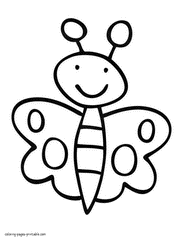 Easy For Kids Free Coloring Pages On Art Coloring Pages