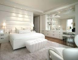 white bedroom with dark furniture – longport.info