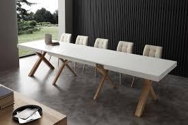 Tisch Mit Verlängerung In Esche Mit Furnierter Decke Idfdesign